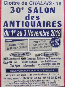 Salon des Antiquaires et visite du Château